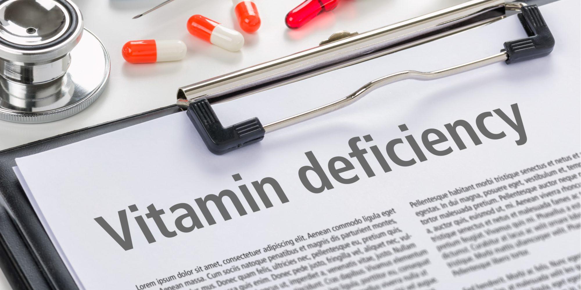 alcohol vitamin deficiency
