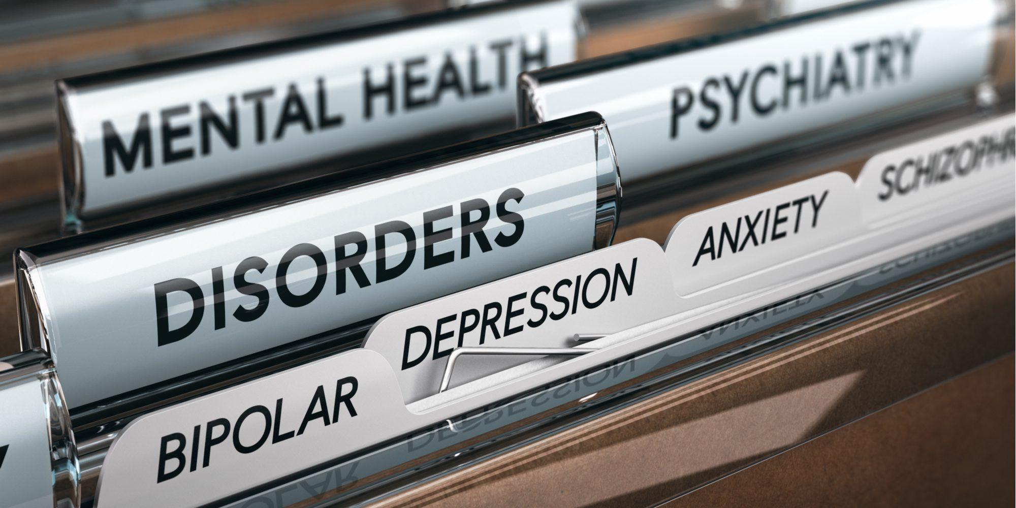 mental illness list