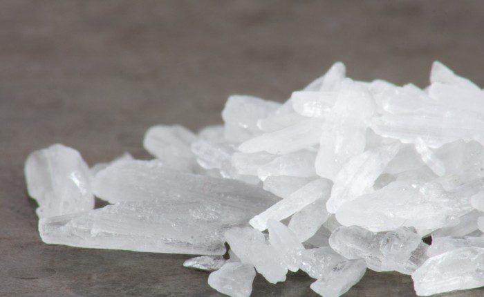 Tina drug - crystal meth abuse